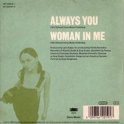 Always You - back _first single_
